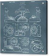 Telephone Patent Acrylic Print