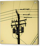 Telephone Pole 4 Acrylic Print