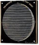 Telescopic View Of The New Moon Acrylic Print