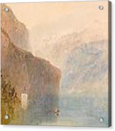 Tell's Chapel - Lake Lucerne Acrylic Print