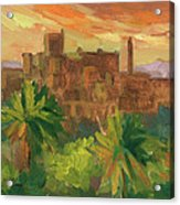 Telouet Kasbah Acrylic Print
