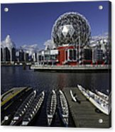 Telus World Boats Acrylic Print