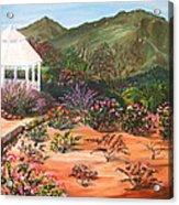 Temecula Heritage Rose Garden Acrylic Print