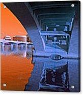 Tempe Town Lake Bridges Acrylic Print