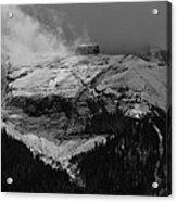 Tempest On Teapot Mountain Acrylic Print