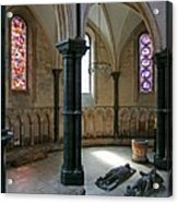 Templar Knights Temple Church London Acrylic Print