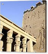 Temple At Philae In Egypt Acrylic Print