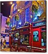The Temple Bar Pub Dublin Ireland Acrylic Print