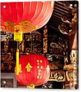 Temple Lanterns 02 Acrylic Print
