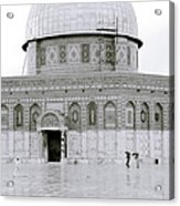 Temple Mount Acrylic Print