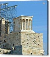 Temple Of Athena Nike Acrylic Print