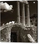 Temple Of Castor And Polux Acrylic Print