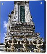 Temple Of Dawn Tower Acrylic Print