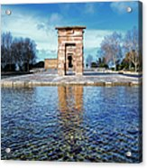 Temple Of Debod Acrylic Print