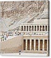 Temple Of Hatsepsut In Egypt Acrylic Print