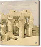 Temple Of Sobek And Haroeris At Kom Ombo Acrylic Print