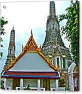Temple Of The Dawn-wat Arun In Bangkok-thailand Acrylic Print