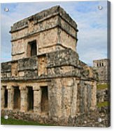 Temple Of The Frescoes Acrylic Print
