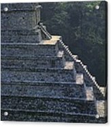 Temple Of The Inscriptions. Mexico Acrylic Print