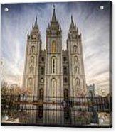 Temple Square Acrylic Print