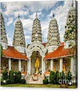 Temple Towers Acrylic Print