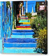 Templeman Street Valparaiso Chile Acrylic Print