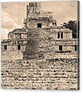 Templo De Edzna Antiguo Acrylic Print