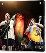 Tenacious D - Kyle Gas And Jack Black Acrylic Print