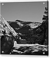 Tenaya Lake In Yosemite Acrylic Print