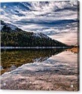 Tenaya Lake Reflections Acrylic Print