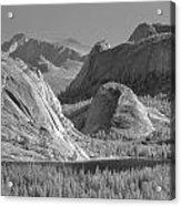 6m6552-bw-tenaya Lake Yosemite Bw  Acrylic Print