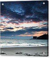 Tenby At Dawn Acrylic Print