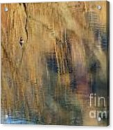 Floating In The Abstract 1 Acrylic Print