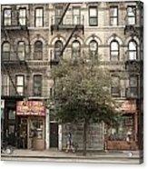 Tenement Building Acrylic Print