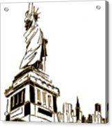 Tenement Liberty Acrylic Print
