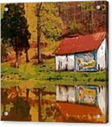Tennessee Barn Acrylic Print