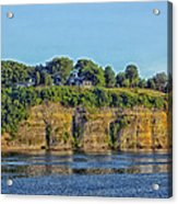 Tennessee River Cliffs Acrylic Print