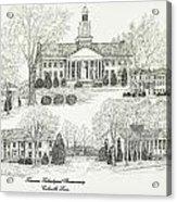 Tennessee Technological University Acrylic Print