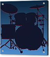 Tennessee Titans Drum Set Acrylic Print