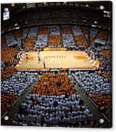 Tennessee Volunteers Thompson-boling Arena Acrylic Print by Replay Photos