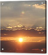 Tennessee's Point Park  Sunset Acrylic Print