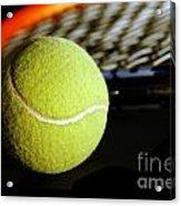 Tennis Equipment Acrylic Print