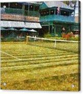 Tennis Hall Of Fame - Newport Rhode Island Acrylic Print