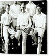 Tennis Team 1921 Acrylic Print