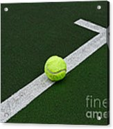 Tennis - The Baseline Acrylic Print