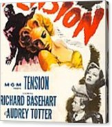 Tension, Us Poster, From Top Audrey Acrylic Print