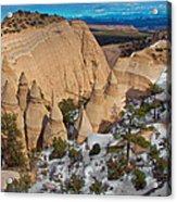 Tent Rocks National Monument Acrylic Print