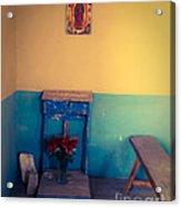 Terlingua Church Offering Acrylic Print