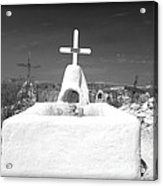 Terlingua Grave Acrylic Print