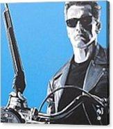 Terminator I'll Be Back Acrylic Print